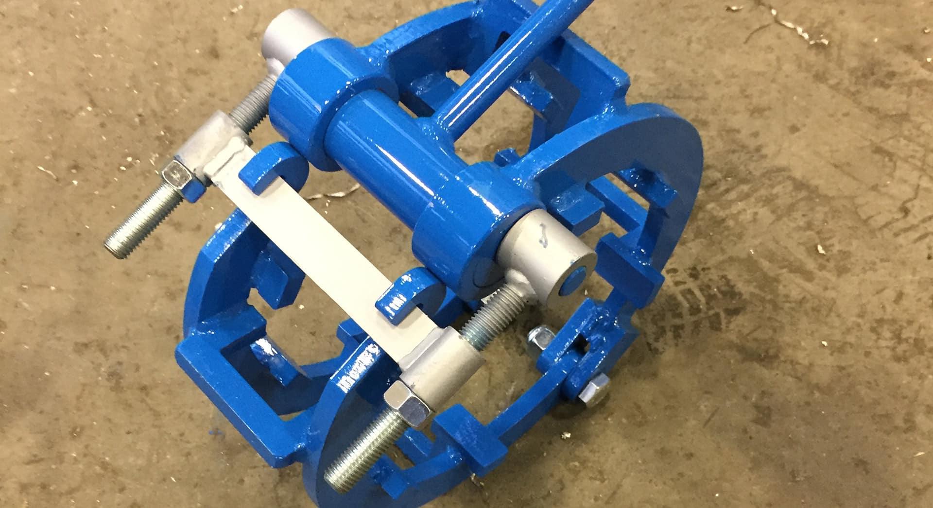 accoppiatore tubi pipeline